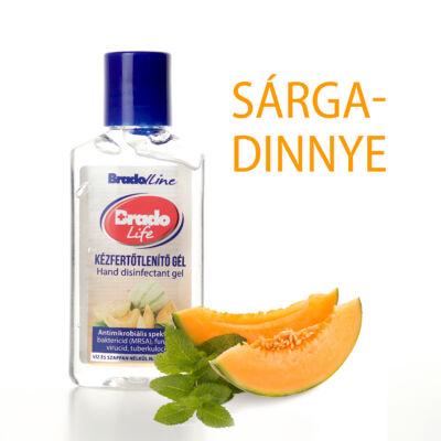 BradoLife kézfertőtlenítő gél 50 ml - sárgadinnye