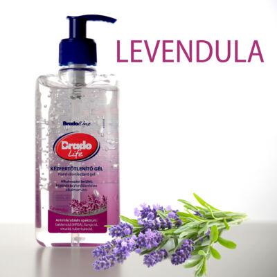 BradoLife kézfertőtlenítő gél 500 ml - levendula