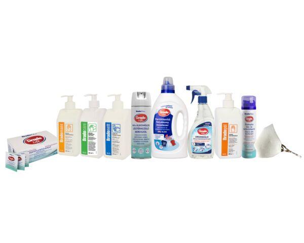Professzionális fertőtlenítőszer csomag