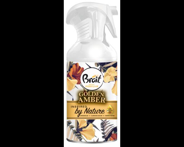 Brait légfrissítő aerosol természet ihlette golden amber - 250 ml
