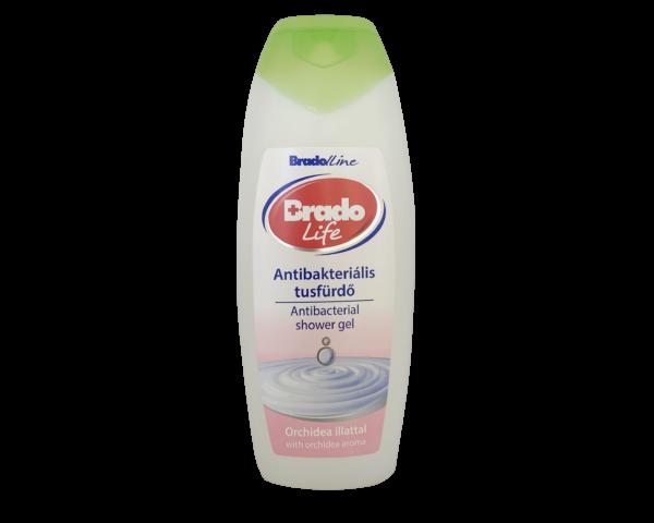 BradoLife antibakteriális tusfürdő 400 ml Orchidea