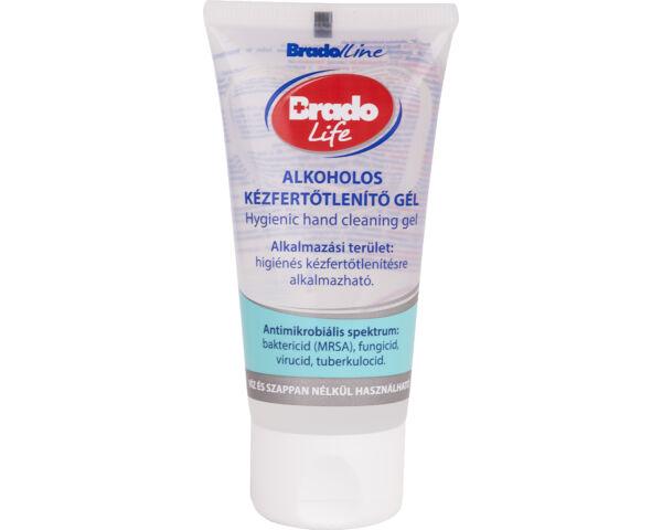 Bradolife tubusos kézfertőtlenítő gél - 50 ml