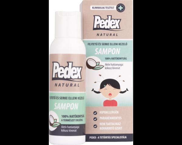 Pedex Natural sampon 100ml - Egyet fizet, kettőt kap