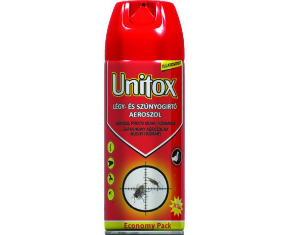 Unitox illatosított légy- és szúnyogirtó aerosol, 400ml