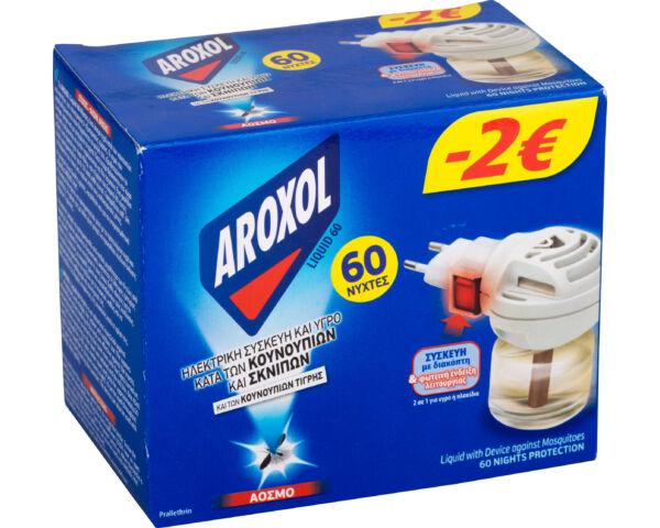 Aroxol szúnyogirtó elektromos készülék