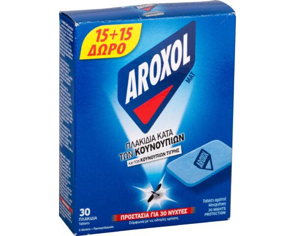 Aroxol szúnyogirtó elektromos utántöltő lapka - 30 db