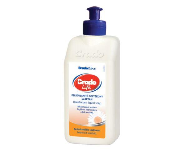 BradoLife fertőtlenítő folyékony szappan 350 ml - kamilla, push-pull kupakkal