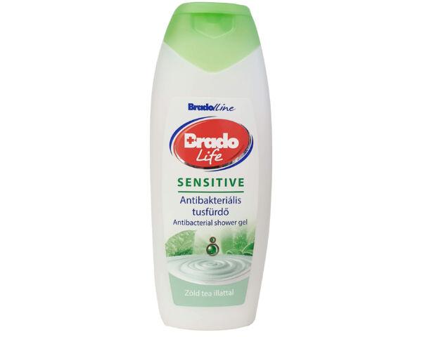 BradoLife antibakteriális tusfürdő 400ml Sensitive
