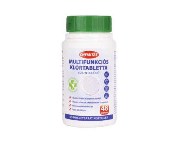 Chemitat multifunkciós klórtabletta - 48 db