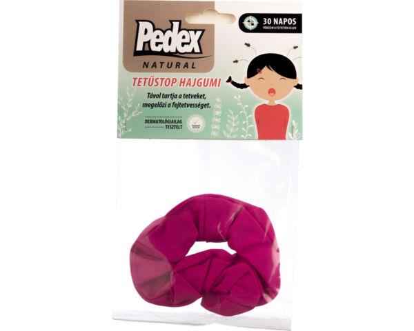 Pedex Natural Tetűstop hajgumi - magenta