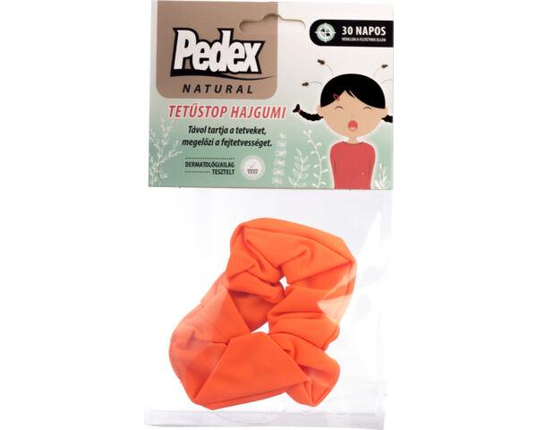Pedex Natural Tetűstop hajgumi - neon-narancs