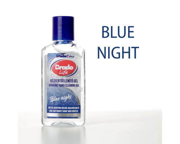 BradoLife kézfertőtlenítő gél 50 ml- Blue night