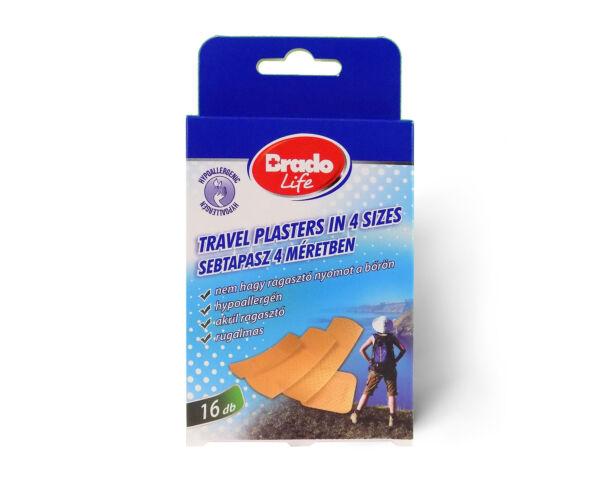 BradoLife TRAVEL sebtapasz 4 méretben - 16 db