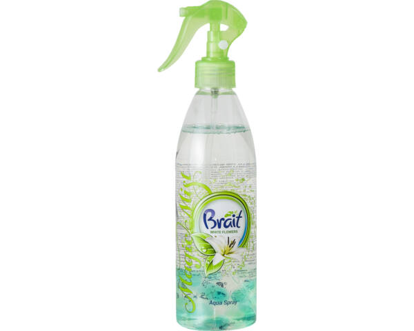 Brait légfrissítő aqua spray 425g white flowers