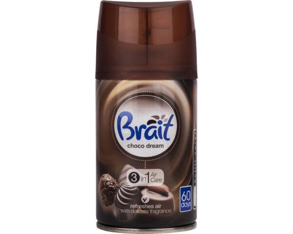Brait légfrissítő utántöltő időzített készülékhez 250ml Choco dream