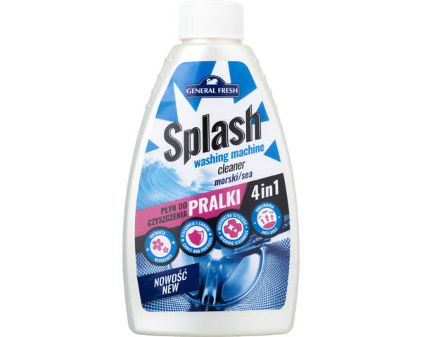 Splash mosógéptisztító 250ml 4in1