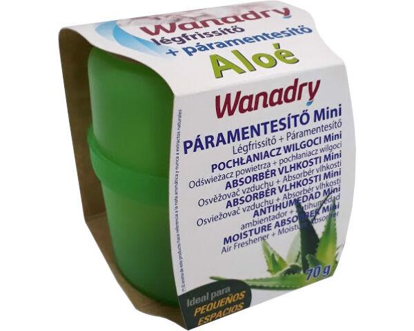 Wanadry páramentesítő és légfrissítő készülék 70g Aloe vera