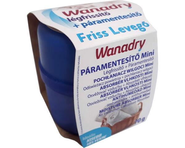 Wanadry páramentesítő és légfrissítő készülék 70g Friss levegő