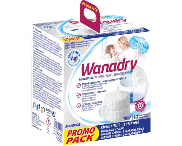 Wanadry páramentesítő készülék 2x450g Friss levegő