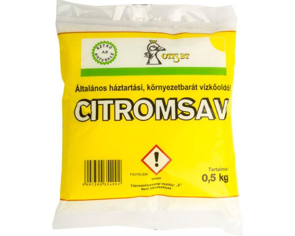 Otis citromsav 500g (környezetbarát vízkőoldó)