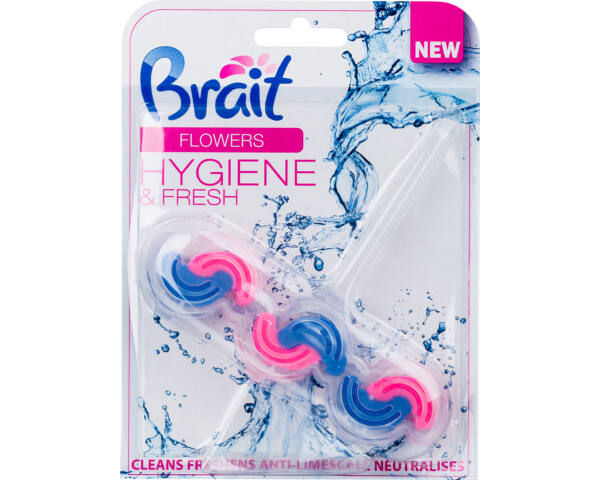 Brait hygiene&fresh WC deo 45g virág illattal