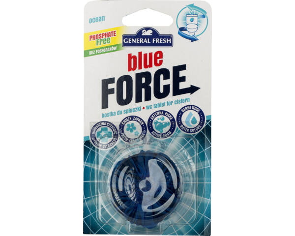 Blue Force WC tartály korong tenger
