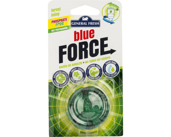 Blue Force WC tartály korong fenyő