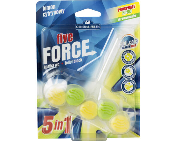 Five force wc deo 50 g citrom